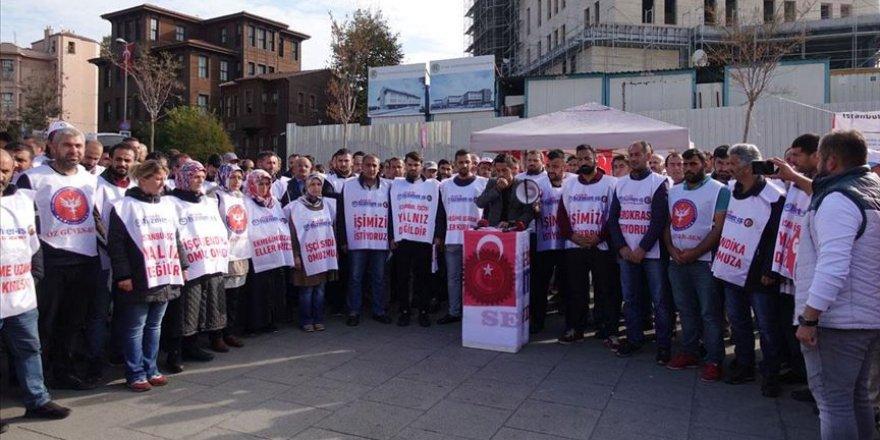 İBB'de İşten Çıkarılan İşçiler İmza Kampanyası Başlattı