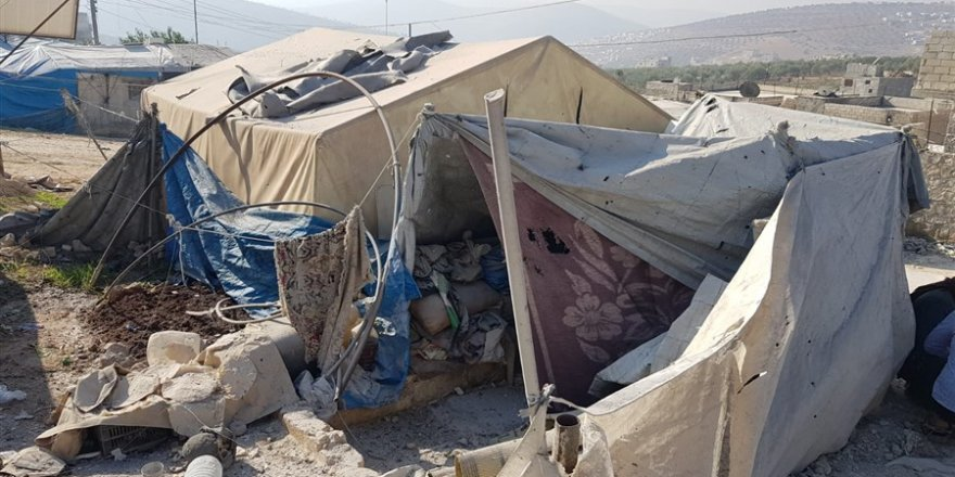 Özgür-Der ve Fetih-Der Yardım Ekipleri Bombardımana Tabi Tutulan Çadır Kampta
