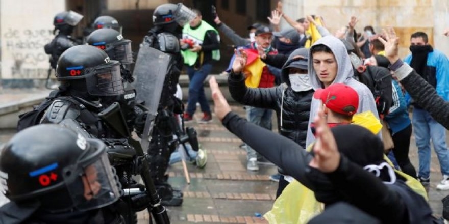 4 Maddede Kolombiya'daki Gösteriler ve Nedenleri