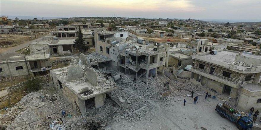 İdlib'de Rejim ve Destekçisi Rusya Hastaneyi Harabeye Çevirdi