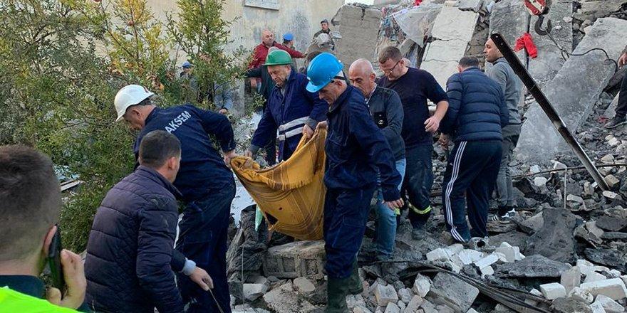 Arnavutluk'ta 6,4 Büyüklüğünde Deprem