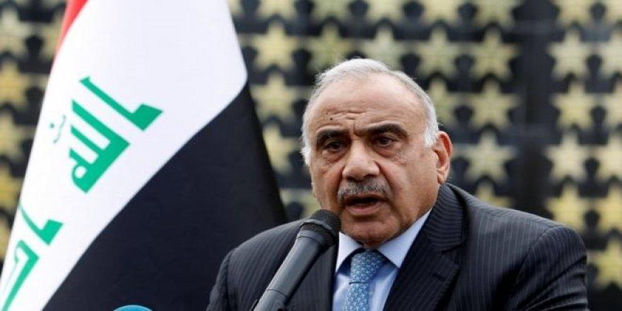 Irak BaşbakanıAbdulmehdi'denistifa Kararı