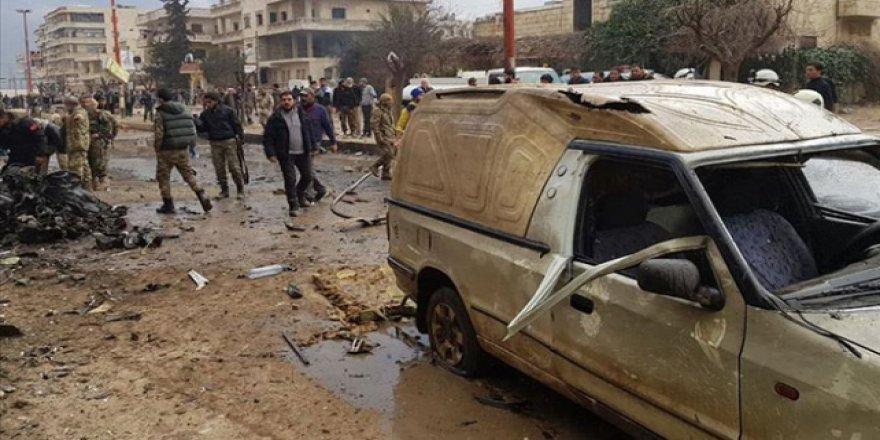 Afrin'deSivillere Yönelik Bombalı Saldırı