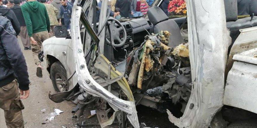 Cerablus'ta Bomba Yüklü Araçlı Saldırı
