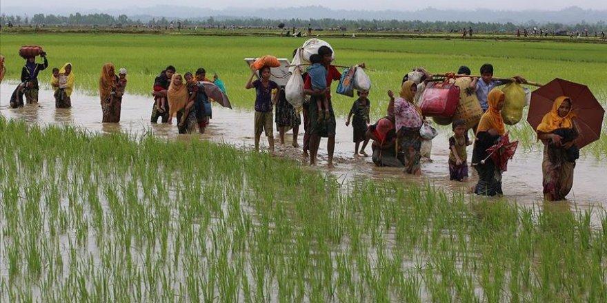 Myanmar'da Karen Halkından Arakanlı Müslümanların Soykırım Davasına Destek