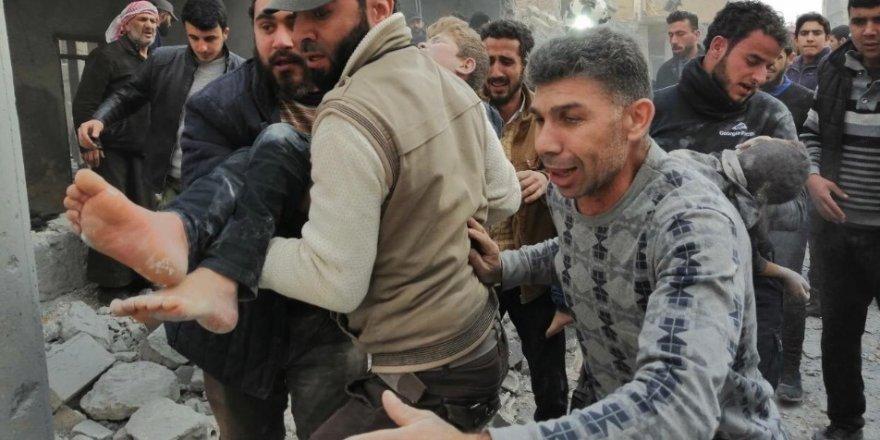 İdlib'e Saldıran İşgalci Rusya 6 Sivili Katletti