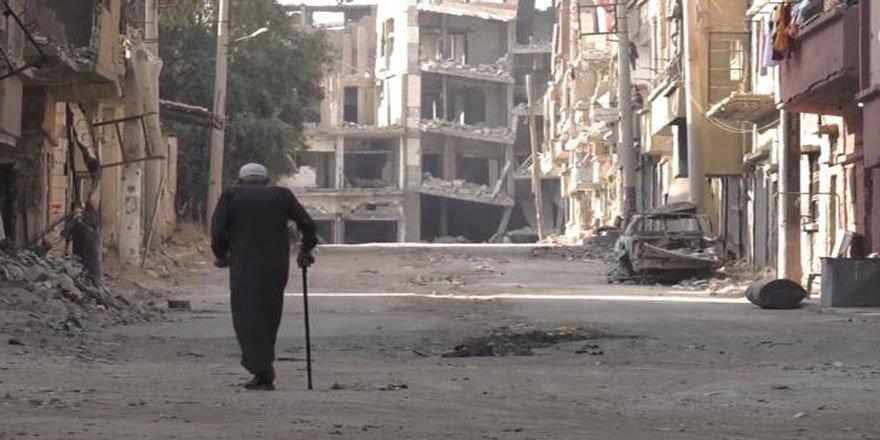 The Guardian Suriye'deki Yıkımın Görüntülerini Yayımladı