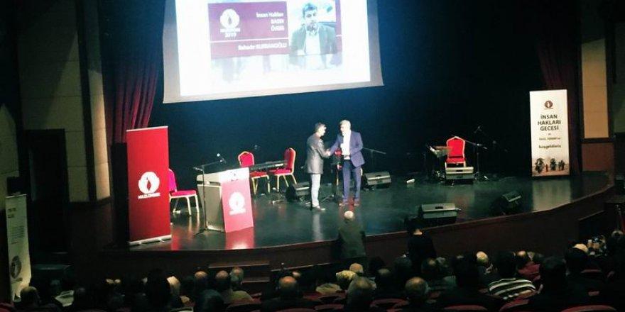 Mazlumder İnsan Hakları Ödülleri Sahiplerini Buldu