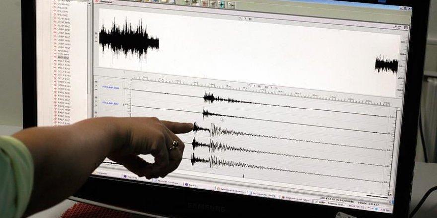 Ege Denizi'nde 5,1 Büyüklüğünde Deprem