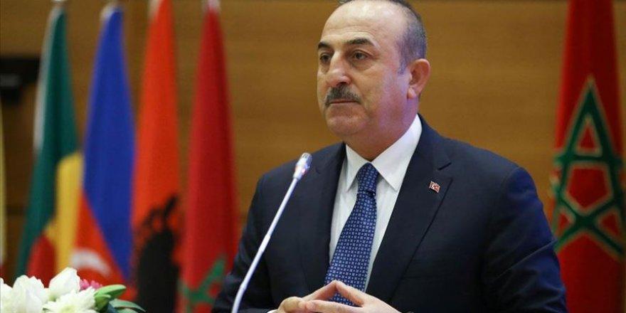 Dışişleri Bakanı Çavuşoğlu: 'İsrail Hayalini Hiçbir Zaman Gerçekleştiremeyecek'