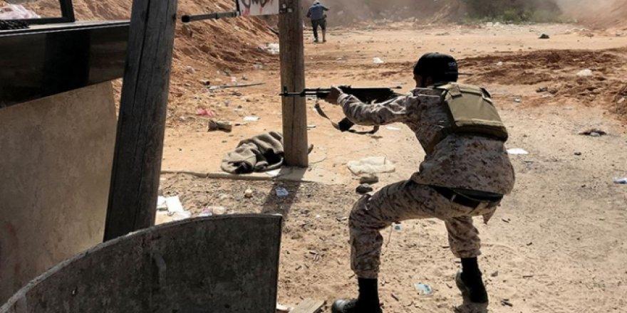 Hafter Milisleri Trablus'a Yeni Saldırı Başlattı