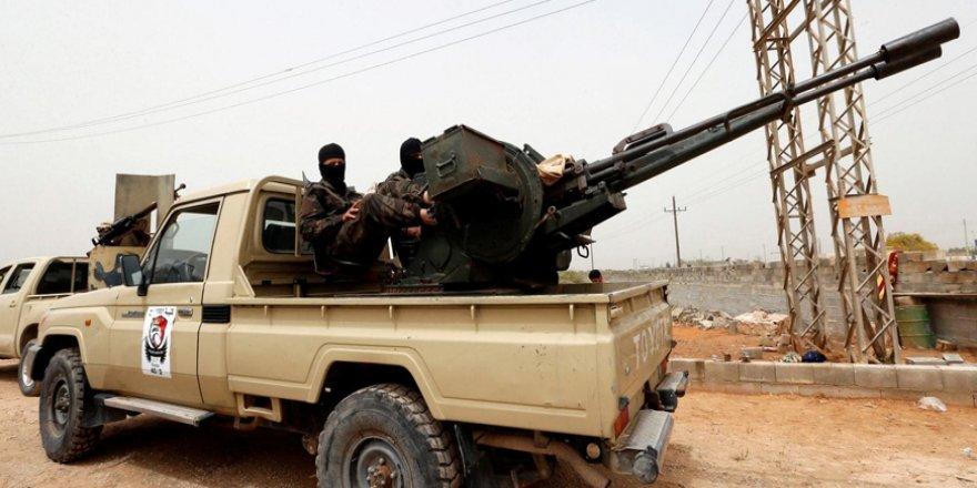 HafterGüçleriUlusal Mutabakat Hükümeti KontrolündekiTrablus'a Saldırı Başlattı