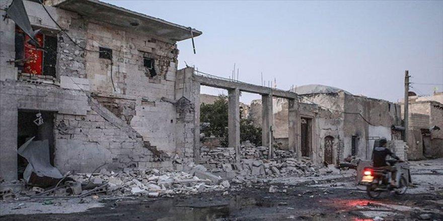 Esed Rejimi İdlib'e Saldırdı: 1 Ölü, 7 Yaralı