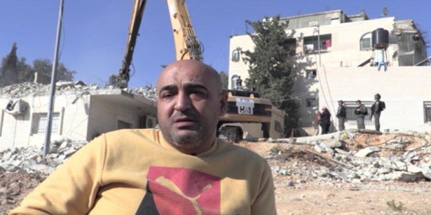 İsrail Filistinli Engellinin Evini Bir Kez Daha Yıktı