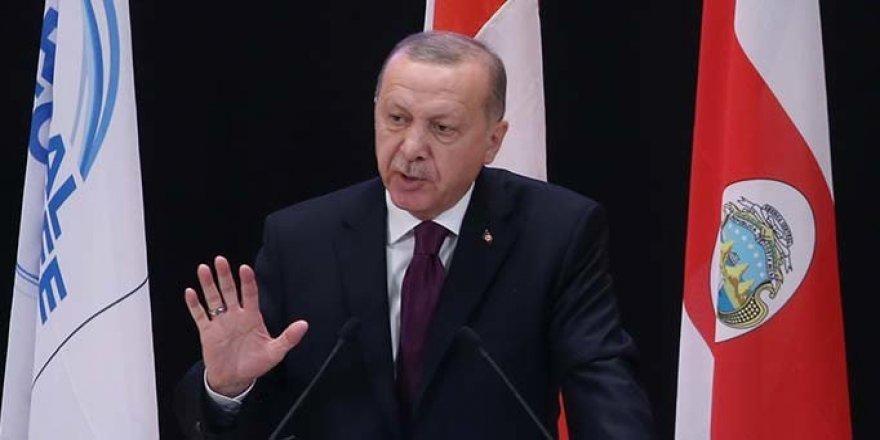 Erdoğan: Suriye'de Akan Kan Değil de Petrol Olsa Batı Anında Müdahale Ederdi