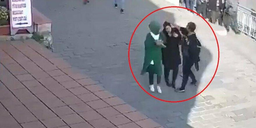 Karaköy'de Başörtülü Kadına Saldıran Kişi Görüntüleri İnkar Etti