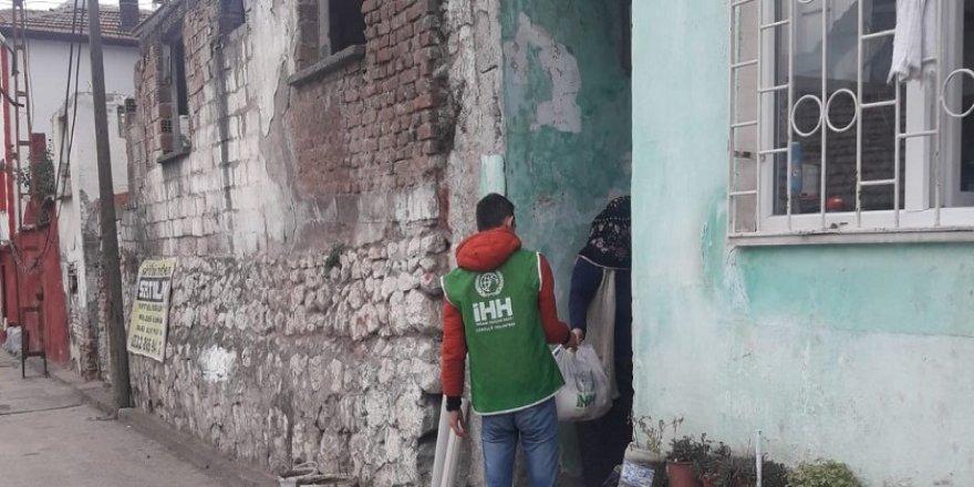 Amasya İHH 125 Aileye Kumanya Yardımında Bulundu