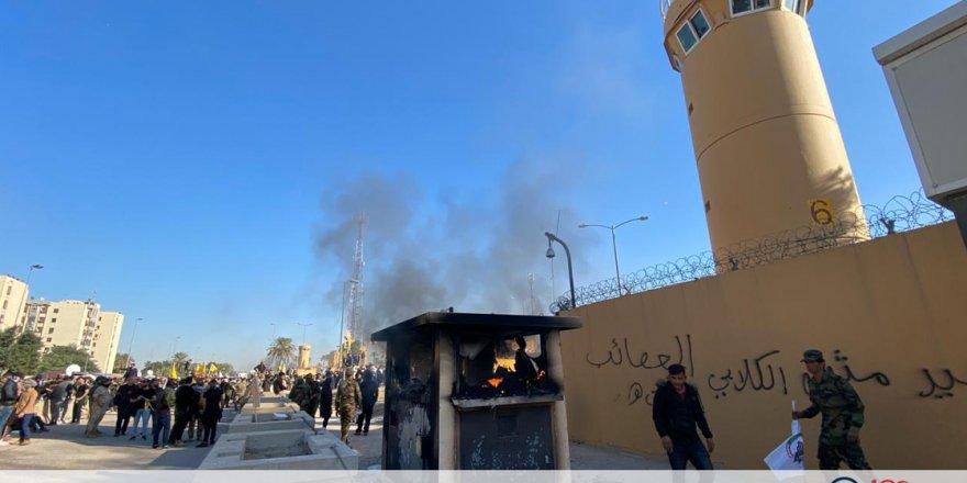ABD Büyükelçilik Saldırısından İran'ı Sorumlu Tuttu
