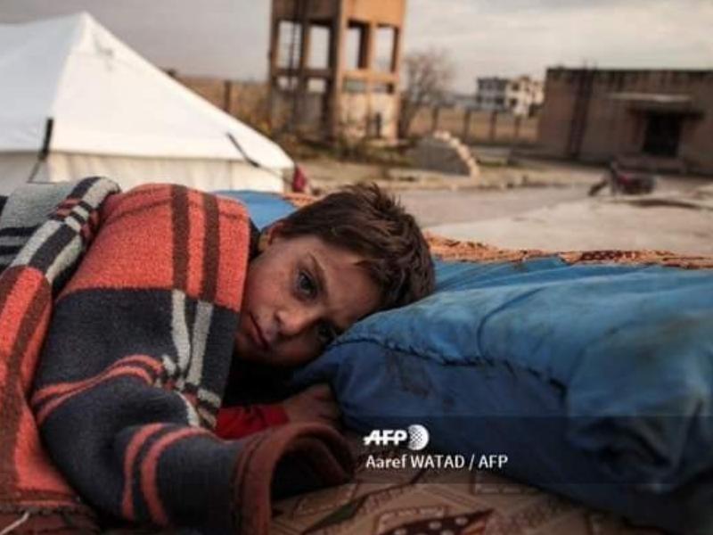 İdlib'teYerinden Olanların Sayısı 284 Bine Ulaştı
