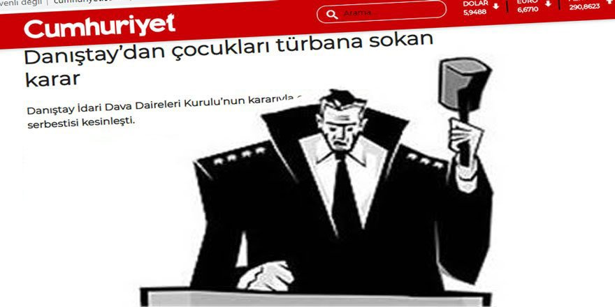 Medyasıyla Yargısıyla Kemalist Ulusolcuların Özgürlükçülüğü!