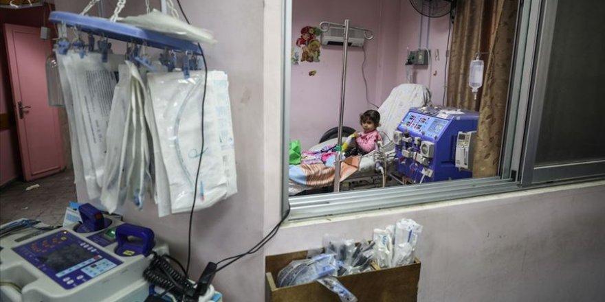 İşgalci İsrail 51 Bin Hastanın Gazze'den Çıkışına İzin Vermedi