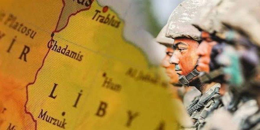 TSK Unsurları Libya'ya İntikal Etmeye Başladı