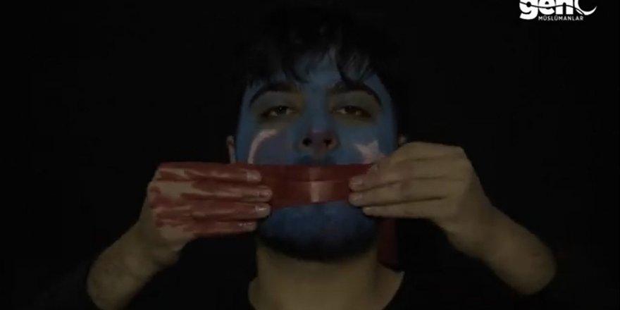 Suriyeli Öğrencilerden Doğu Türkistan İçin Kısa Film