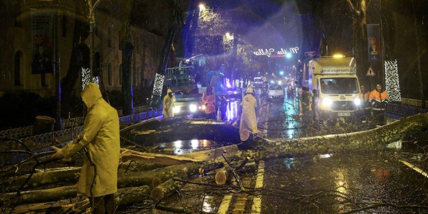 İBB İstanbul'daki Fırtınanın Oluşturduğu Zararı Açıkladı
