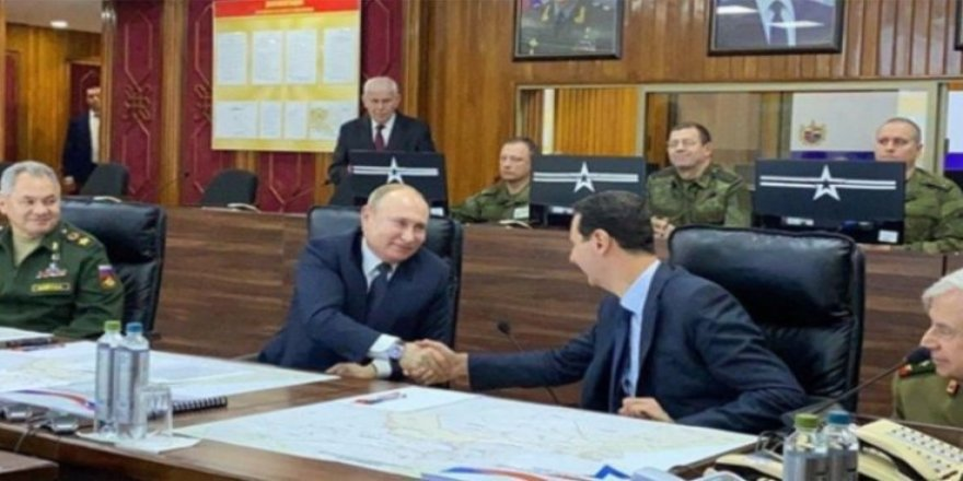 "Putin'den Esed'e ""Suriye'nin Efendisi Benim"" Mesajı"