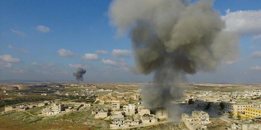 Esed Rejimi İdlib'de 17 Sivili Daha Katletti