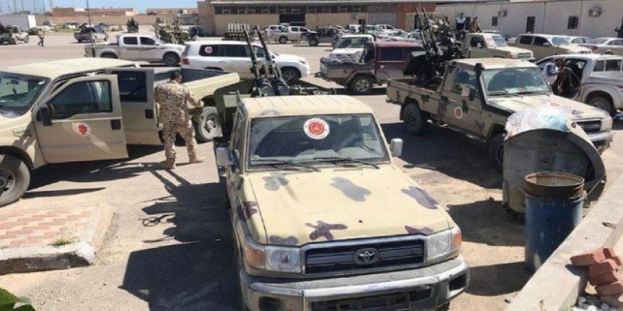 Libya'nın Başkentinde Hafter Güçlerine Ait Araçlar İmha Edildi