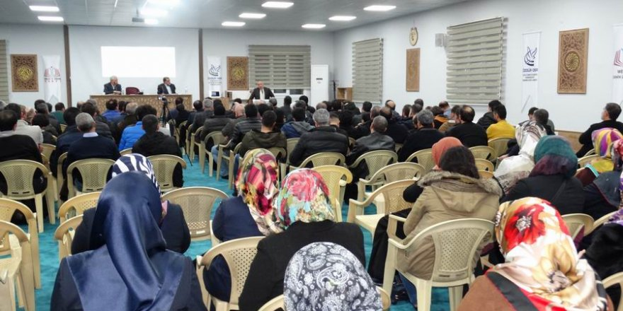 """Diyarbakır'da """"İslami Bilincin İnşası"""" Paneli"""