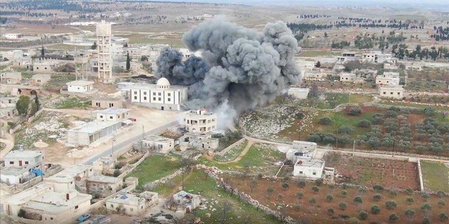 EsedRejimi ve İran Halep'in Batısı ve Güneyine Saldırıyor