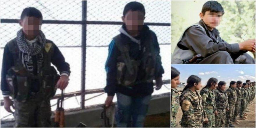 BM: PKK/YPG Çocukları Savaşçı Olarak Kullanıyor