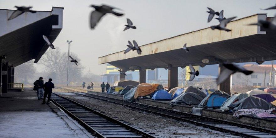 Bosna'daki Göçmenlerin Geçici Durağı: Tuzla Garı