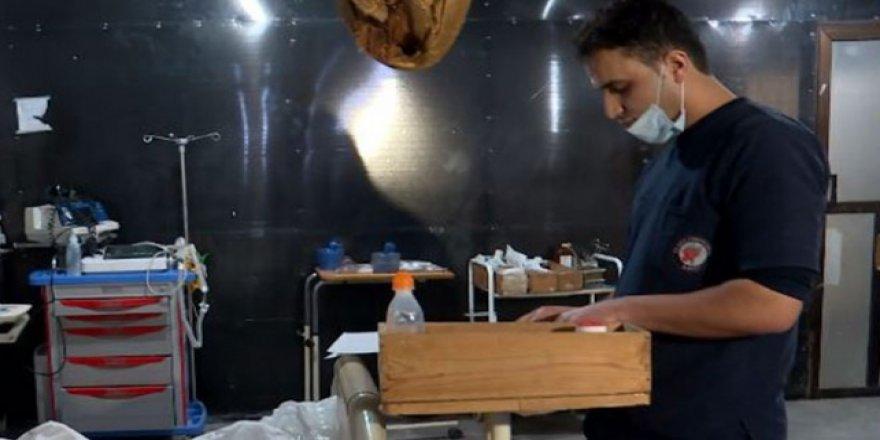 İdlib'de Yaralılar Zor Şartlarda Tedavi Edilmeye Çalışılıyor