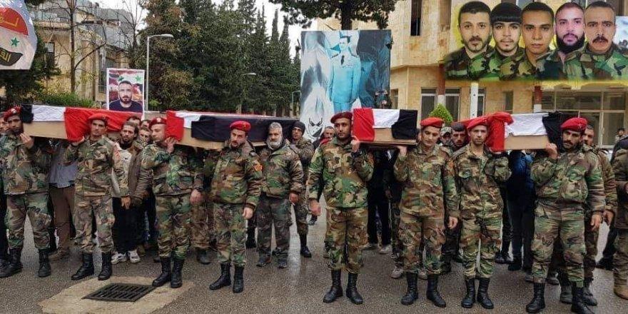 İran Destekli Şii Milisler İçin Cenaze Töreni Düzenlediler