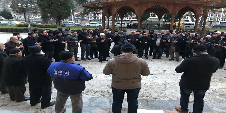 İşgalci İsrail Amasya'da Protesto Edildi