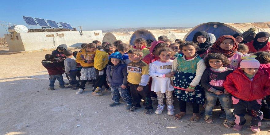 Kamplardaki Suriyeli Yetim Çocuklardan Elazığlı Depremzedelere Dua ve Dayanışma Mesajı