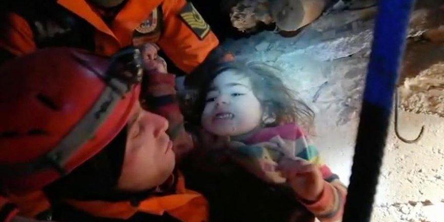 2,5 Yaşındaki Kız Çocuğu 24 Saat Sonra Kurtarıldı