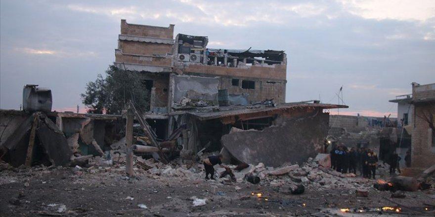 EsedRejimi Rusya'nın desteğiyleİdlib'de3 Yerleşimi Daha Ele Geçirdi