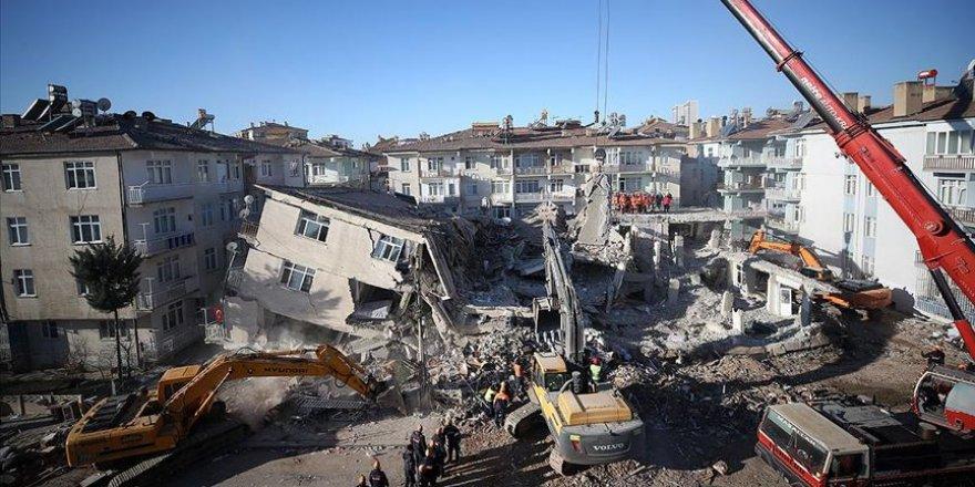 Enkaz Altındaki 41'inci Depremzedenin Cansız Bedenine Ulaşıldı