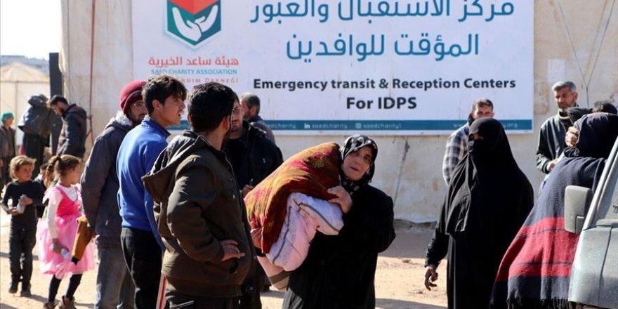 İdlib'de BM Destekli Barınma Merkezi, Rejim ve Rus Saldırıları Nedeniyle Boşaltıldı