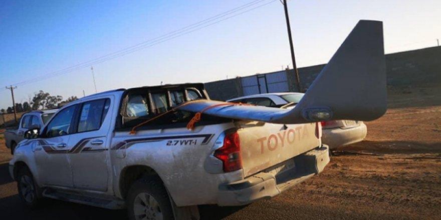 Libya'da BAE'ye Ait SİHA Düşürüldü