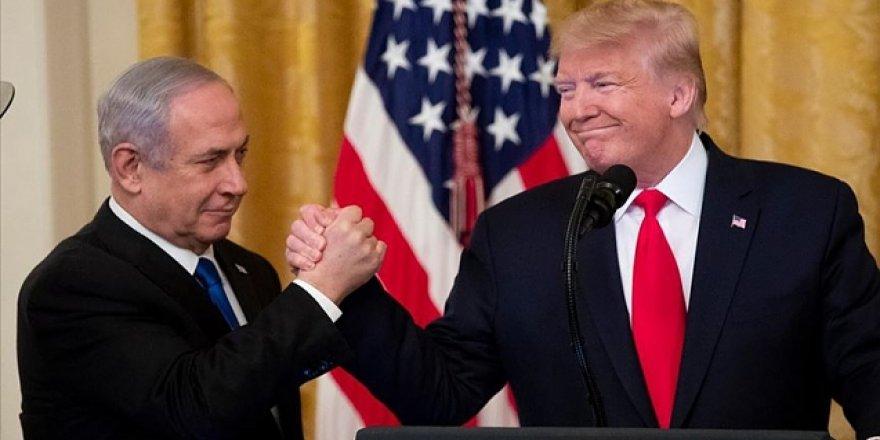 Trump 'Filistin'i Parçalama Planı'nı Açıkladı