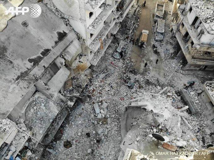 Bu Yıkım Depremden Değil, Rusların Bombalarından Oluştu