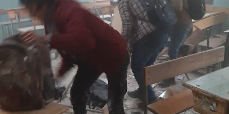 PKK/YPG,Afrin'de2 Okul ve 1 Cami'ye Füze Attı: 1 Çocuk Öldü