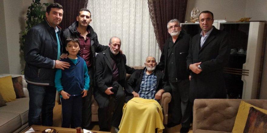 Sivas Özgür-Der'den Ahmet Turan Kılıç'a Ziyaret