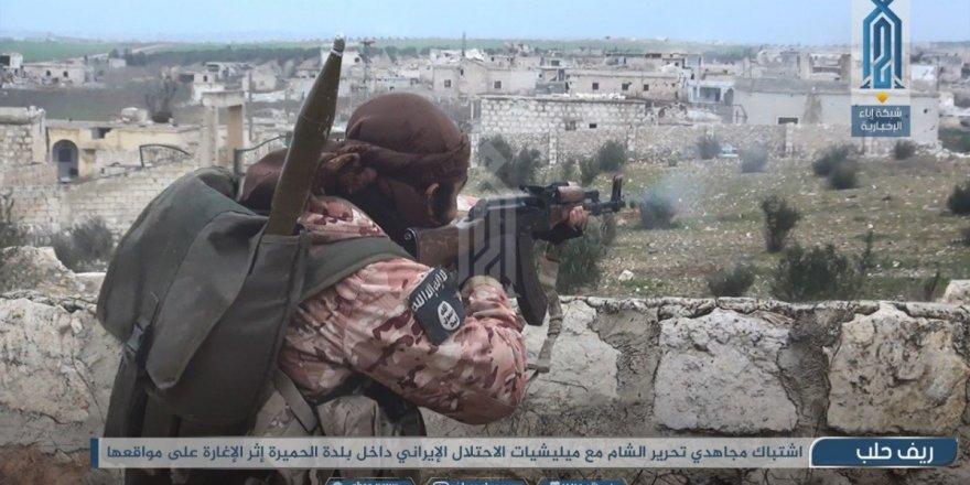 HTŞ Halep Kırsalındaki Operasyon Görüntülerini Yayımladı