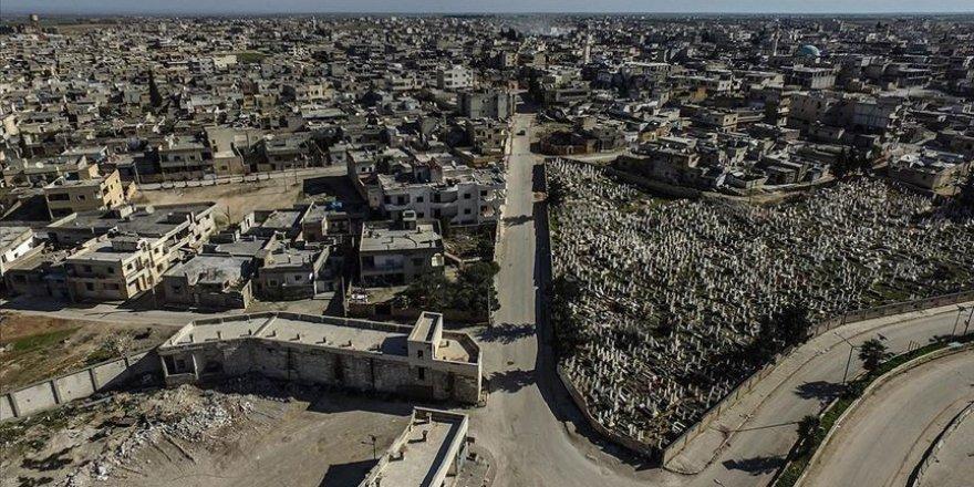 Esed Rejimi ve Destekçileri  Serakib İlçesinde 170 Bin  Sivili Evsiz Bıraktı